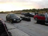 Alfa Romeo 145 Turbo VS Alfa Romeo 156 GTAdrag race