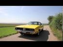 1969 Dodge Charger R/T Burnout.Exhaust sound