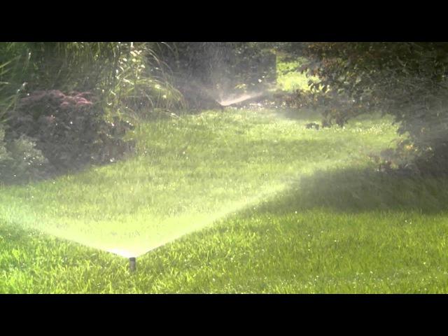 GARDENA Подземная система полива выдвижными дождевателями