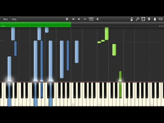 Т9 - Ода нашей любви (Вдох-Выдох) Piano Cover [Synthesia Piano Tutorial]