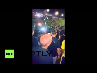 Бразилия: Слезоточивый газ развязана, как анти-Лулы демо хиты офисов Руссефф Бразилиа.