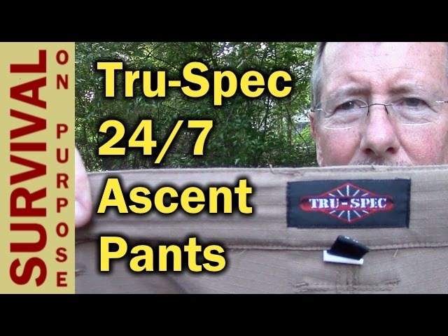 Tru-Spec 24/7 Ascent Tactical Pants - My Favorite Pants!