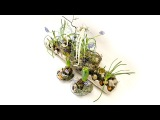 Флористика Композиция к Пасхе мастер класс Master Class Floristry composition for Easter