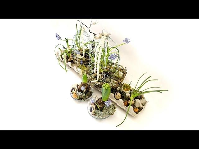 Флористика Композиция к Пасхе мастер класс Master Class Floristry composition for Easter