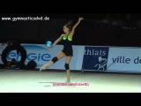 Арина Аверина - мяч (опробование)  ГП Тье 2016