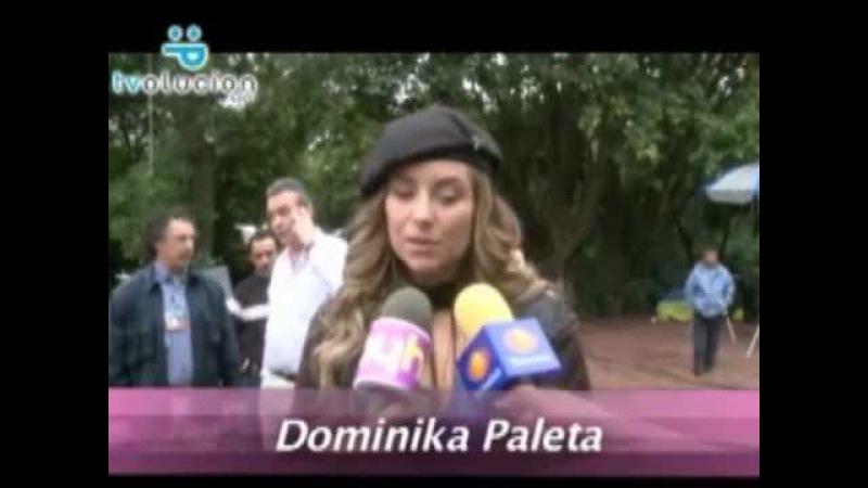 Entrevista Dominika Paleta de Triunfo Del Amor (TDA)