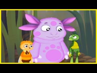 Лунтик новые серии. Лунтик учит английский. Учим цифры 2ч. Развивающие мультики для детей #Мультики