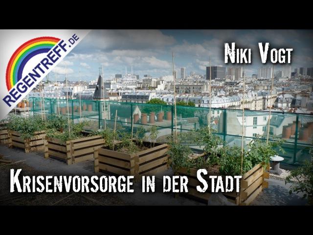 Niki Vogt - Krisenvorsorge in der Stadt
