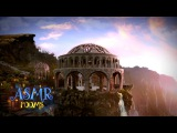 Lord of the Rings ASMR - Rivendell - Ambient sound white noise (Waterfall, Elvish song, birds)