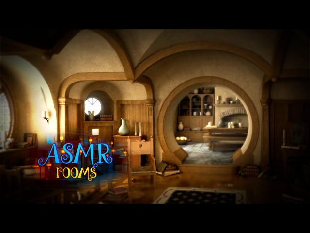 Waking up in Hobbit home - Lord of the Rings ASMR - bag end white noise ambient sounds - HD
