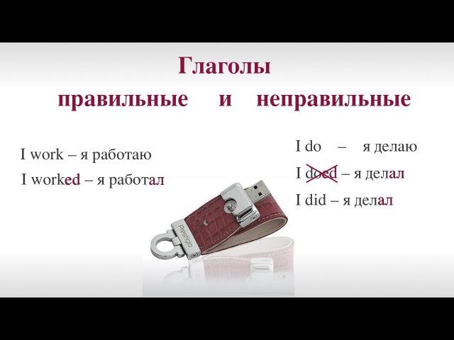 Неправильные глаголы английского языка ч.1