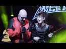 Babymetal on Performing with Rob Halford from Judas Priest | GRAMMYs