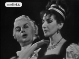 Тито Гоби и Мария Каллас поют оперу Тоска Пуччини
