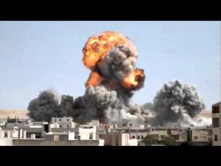Война Сирия Подрыв Домов 18.12.15. г.( Syria )