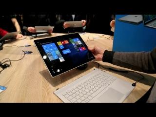 Первый взгляд на Microsoft Surface Book