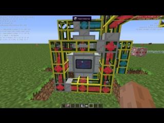 Запуск и Работа Жидкостного Ядерного Реактора Minecraft 1.7.10