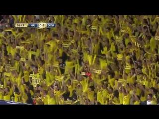 Усман Дембеле забивает шикарный мяч в ворота «Манчестер Юнайтед»