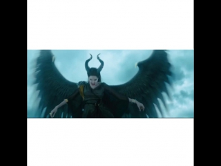 Vines with cartoons / maleficent /