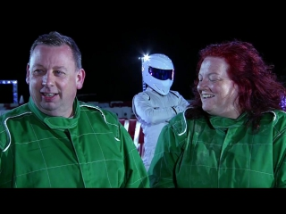 Dave and paula beat the stig - the getaway car - bbc one