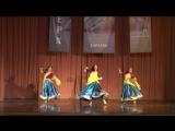 Эстрадный индийский танец.