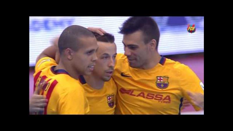 [HIGHLIGHTS] FUTSAL (International Cup): FC Barcelona Lassa – Al Rayyan (6-1)