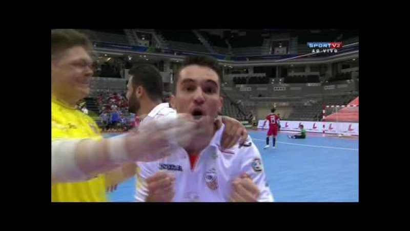 Gols Carlos Barbosa 3 x 0 Al Rayyan - Semi Final Copa Intercontinental de Futsal 2016 (28/06/2016)