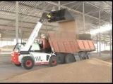 Новый универсальный погрузчик пополнил парк спецтехники комбикормового завода в Роговатом (старый оскол)
