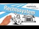 Das deutsche Rechtssystem einfach erklärt