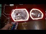 Toyota Ipsum Led Angel Eyes RGB TTSL Ангельские глазки Тойота Ипсум РГБ TAU tech