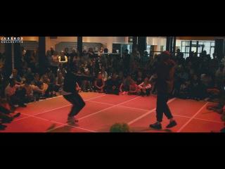 Nitro vs Ice | Hip-Hop | Breakin' the Bay 2016 x Jukebox Collective | Danceproject.info
