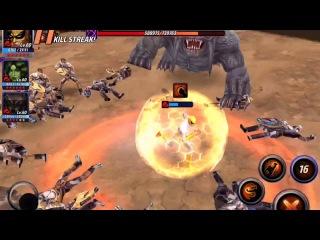 Alliance Battle Combat Help for Iron Fist
