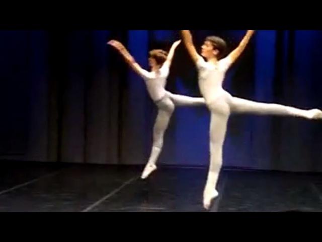 Cours de danse classique - garçons - milieu (ballet boys - classical dance)