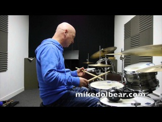 Gary Double Paradiddle lesson for mikedolbear.com