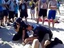 Zatrzymanie wariata w Gdyni Profesjonalna interwencja policji 2013
