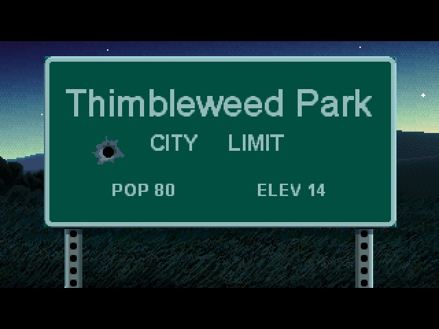 Thimbleweed Park Ray Trailer