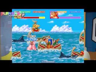 Asterix & Obelix(Arcade) - 2 Players Full Longplay.