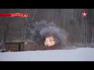 Разрушительная мощь: РПГ-28 «Клюква» выкосил десятки квадратных метров леса