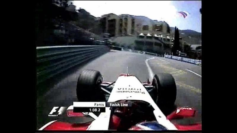 F1 2004. 06. Гран-При Монако, квалификация