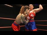 Paris vs Christina LesbBoxing
