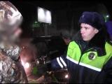 Сотрудники ГИБДД задержали водителя управлявшего снегоходом