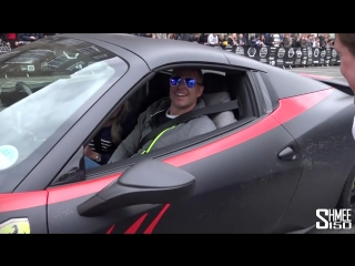The Supercars Arrive for Gumball 3000 in Dublin