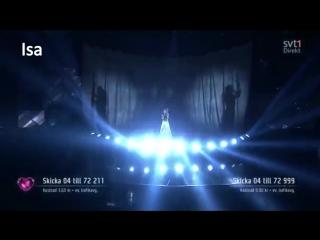 Melodifestivalen 2016 - deltävling 2 (simulator anonimusic)