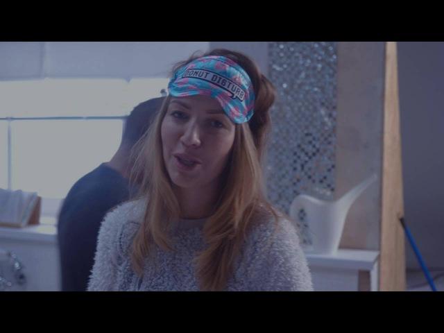 Как снимался клип на песню Галины Боб - Бьется Сердце (backstage)