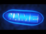 FREE BLUE Bubble Sync Intro Template #92 Blender Only