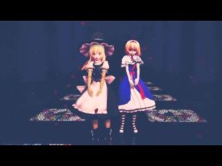 【東方MMD】Happy Halloween (Marisa, Alice)