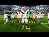 Germany's Way To 4 Stars