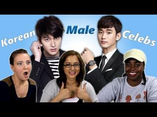 American Girls React to Korean Male Celebrities