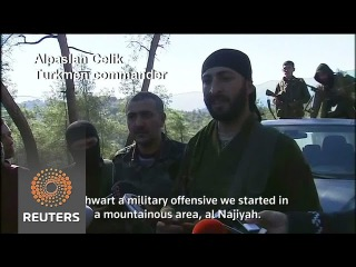Turkmen says his forces killed two Russian pilots