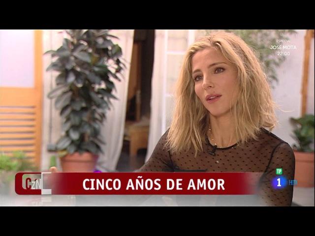 ELSA PATAKY celebra sus cinco años de amor con Chris Hemsworth
