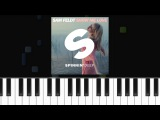 Sam Feldt - ''Show Me Love'' (Ft Kimberly Anne) Easy Piano Tutorial - Chords - How To Play - Cover